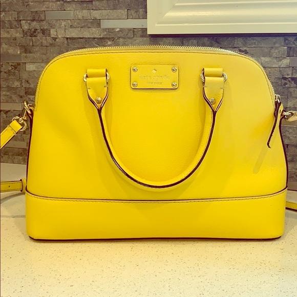 kate spade Handbags - Kate Spade Yellow Purse